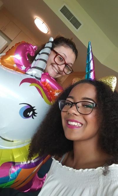 Unicorn party photoshoot